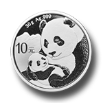 Panda 30g Silber