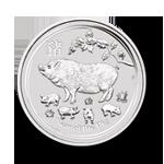 Silber Lunar II Schwein
