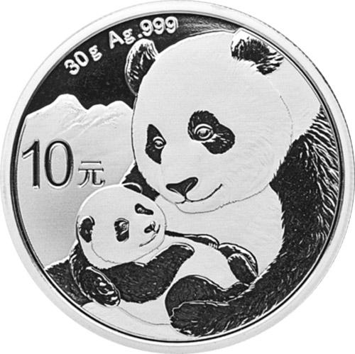 Panda 30 Gramm (differenzbesteuert) (2019)