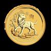 Lunar II Hund 1oz Gold