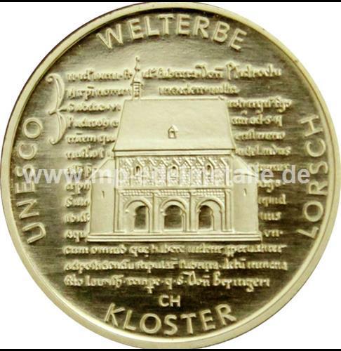 100 Euro Kloster Lorsch 1/2 oz  - J -  (2014)