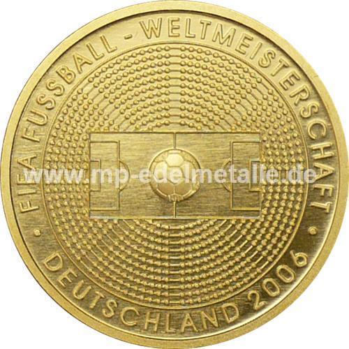 100 Euro Fußball WM 1/2 oz - G -    (2005)