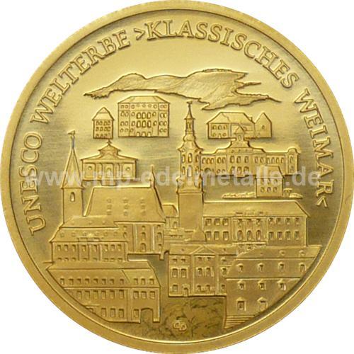 100 Euro Weimar 1/2 oz - A - (2006)