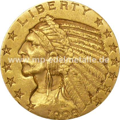 5 $ Indian Head (1908 - 1933)