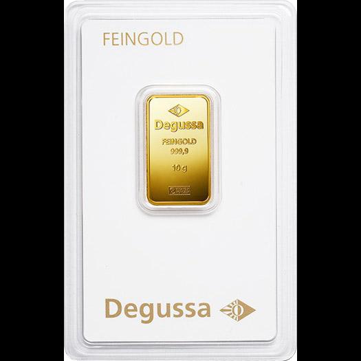 Degussa Goldhandel Barren 10g