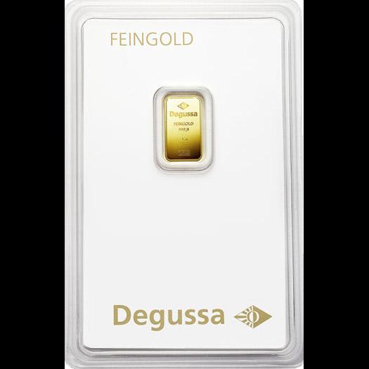 Degussa Goldhandel Barren 1g