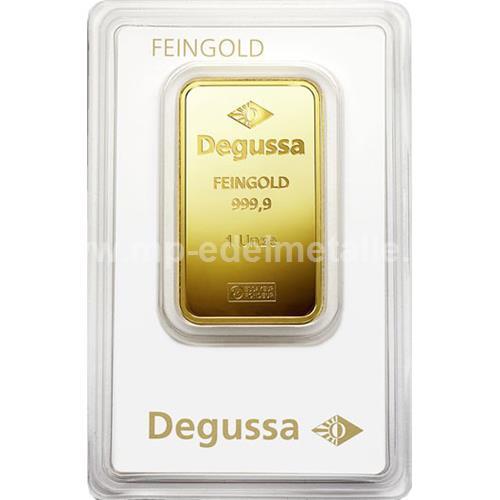 Degussa Goldhandel Barren 31,1g