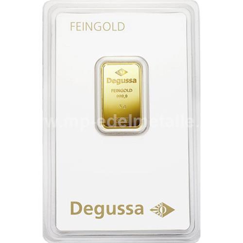 Degussa Goldhandel Barren 5g