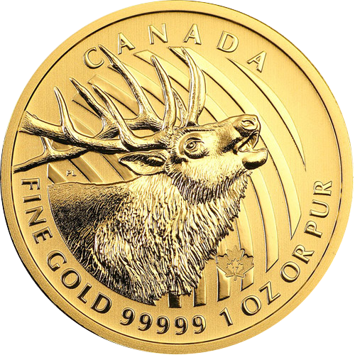 Kanada Bulking Elk 1oz (2017)