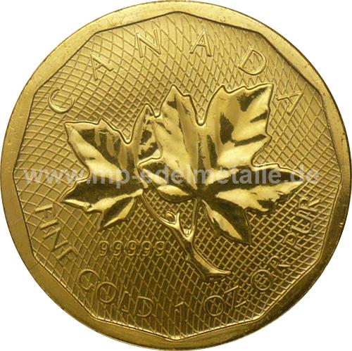 Maple Leaf 99999 1 oz    (2008)