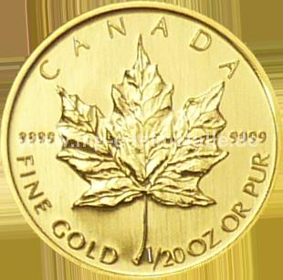 Maple Leaf 1/20 oz