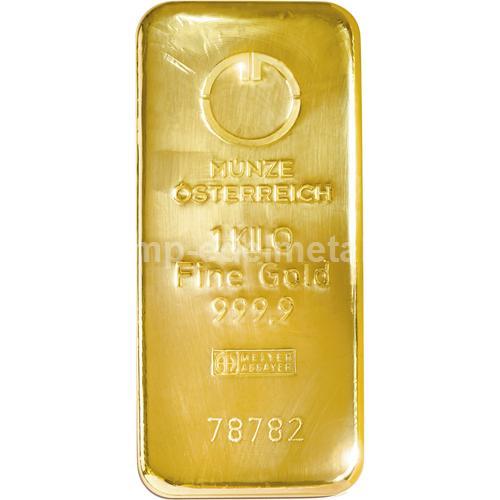 Barren 1000g Münze Österreich