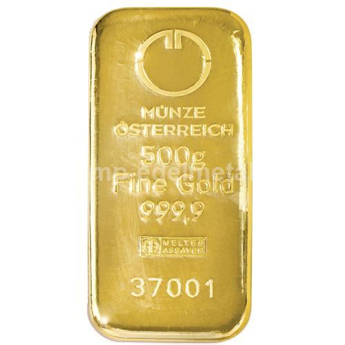 Barren 500g Münze Österreich