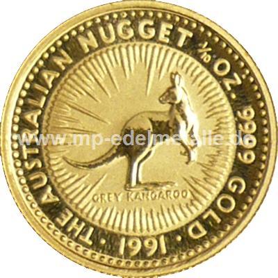 Nugget Känguru 1/10 oz  (1991)