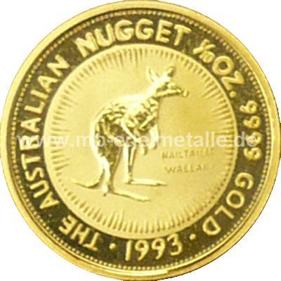 Nugget Känguru 1/10 oz  (1993)