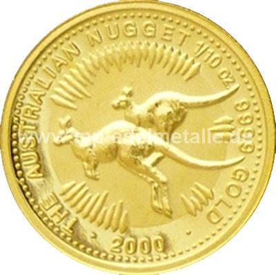 Nugget Känguru 1/10 oz  (2000)