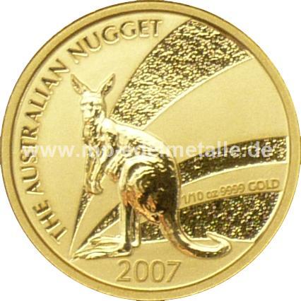 Nugget Känguru 1/10 oz  (2007)