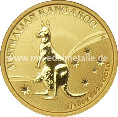 Nugget Känguru 1/10 oz (2009)