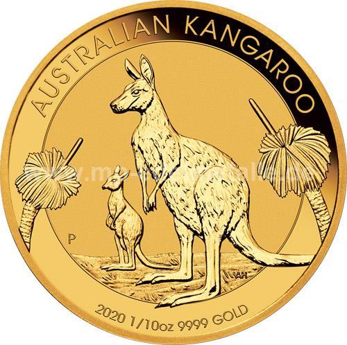 Nugget Känguru 1/10 oz (2020)