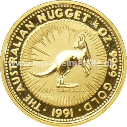Nugget Känguru 1/4 oz  (1991)