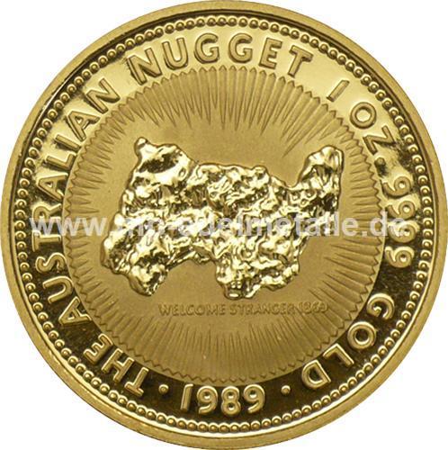 Nugget Känguru 1/10 oz    (1989)