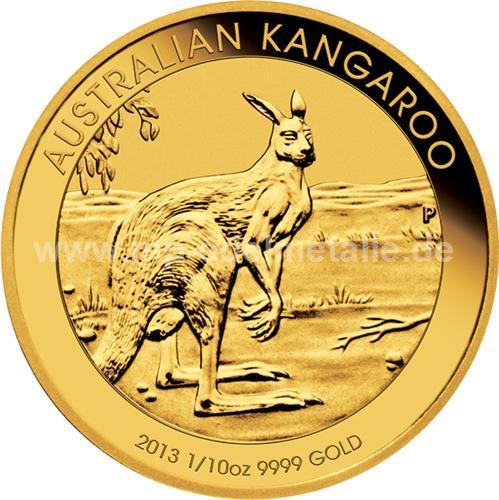 Nugget Känguru 1/10 oz (2013)