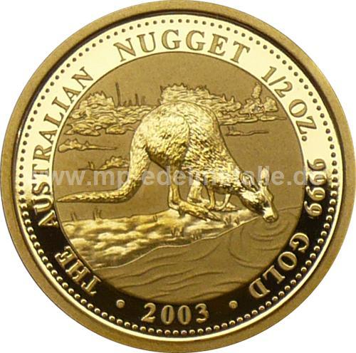 Nugget Känguru 1/2 oz  (2003)