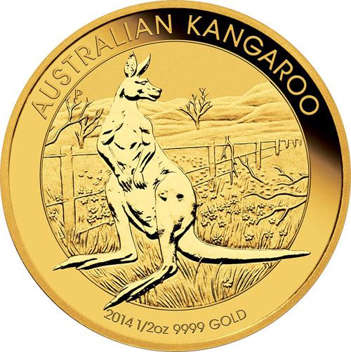 Nugget Känguru 1/10 oz (2014)