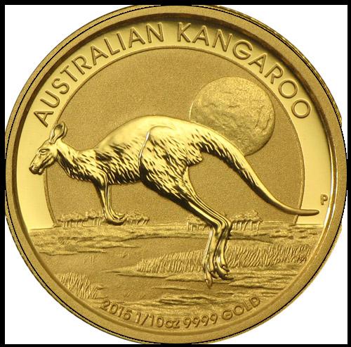 Nugget Känguru 1/10 oz (2015)