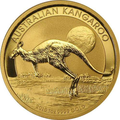 Nugget Känguru 1oz (2015)