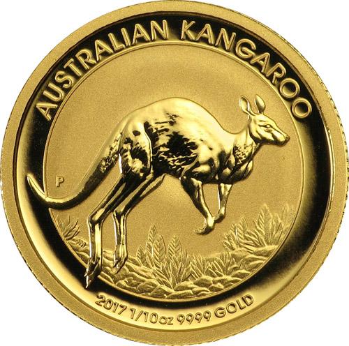 Nugget Känguru 1/10 oz (2017)
