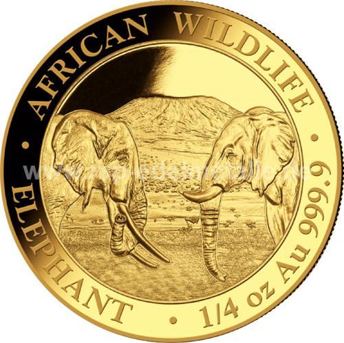 Somalia Elefant 1/4 oz (2020)