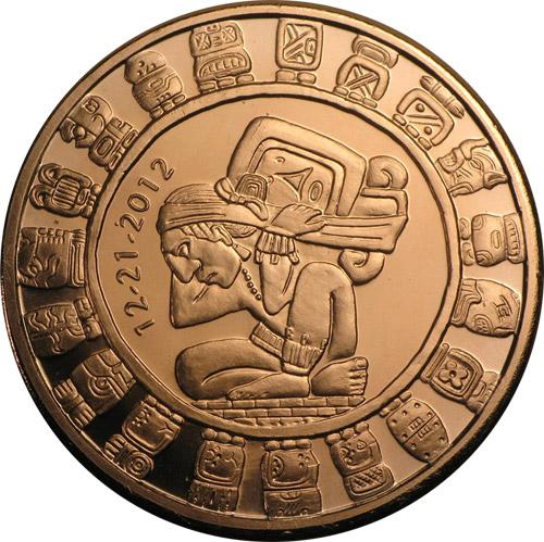 Maya Kalender 1oz AVDP