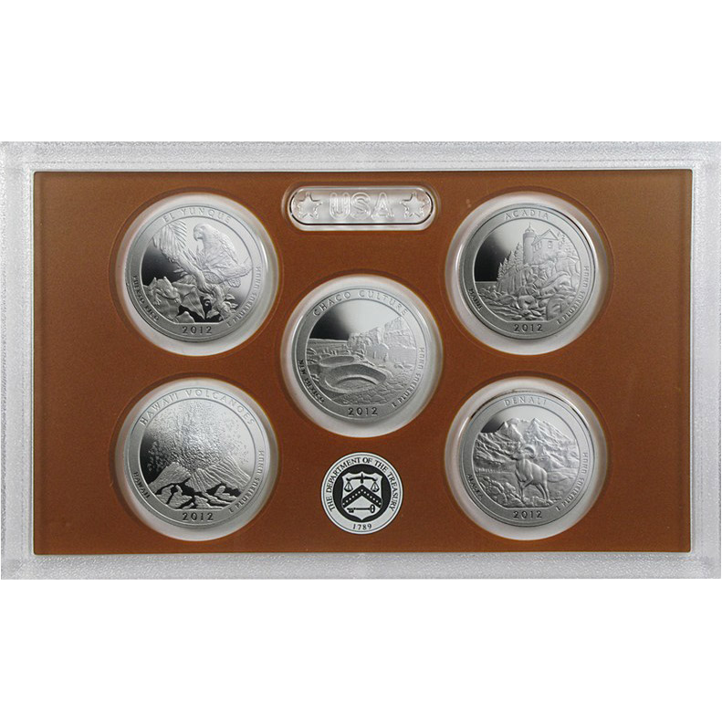 America the Beautiful Quarter Proof Set (differenzbesteuert)  (2012)