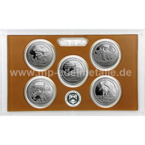 America the Beautiful Quarter Proof Set (differenzbesteuert)   (2016)