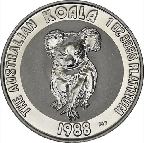 Koala 1 oz  Platin