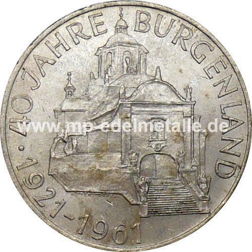 25 Schilling Gedenkmünzen (differenzbesteuert) (1955 - 1973)