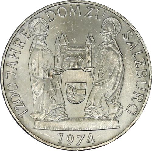 50 Schilling Gedenkmünzen (differenzbesteuert) (1974 und 1978)