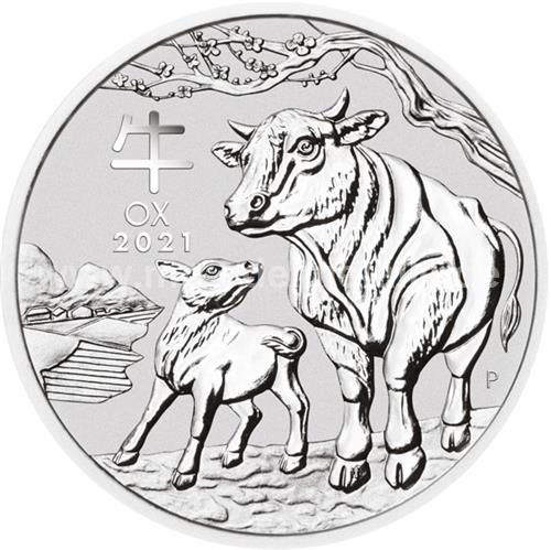 Jahr des Ochsen 1 Kilo (differenzbesteuert) (2021)