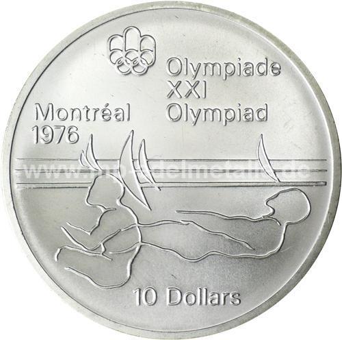 Olympiade Montreal 10$ (differenzbesteuert) (1973-1976)