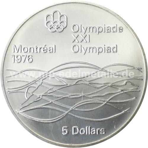 Olympiade Montreal 5$ (differenzbesteuert) (1973-1976)
