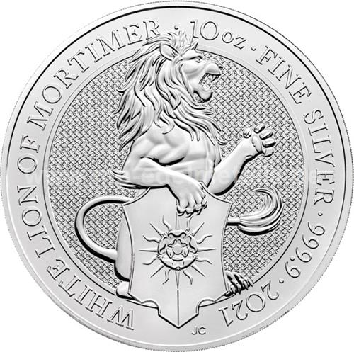 White Lion of Mortimer 10oz  (differenzbesteuert) (2020)