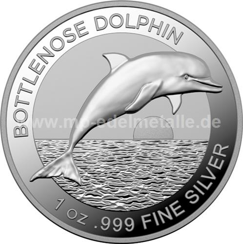 Bottlenose Dolphin 1 oz (differenzbesteuert) (2019)