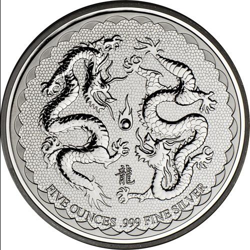 Double Dragon 5oz (differenzbesteuert) (2018)
