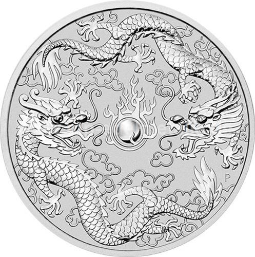 Dragon & Dragon 1oz (differenzbesteuert) (2019)