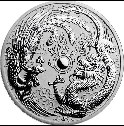 Dragon & Phoenix 1oz (differenzbesteuert) (2017)