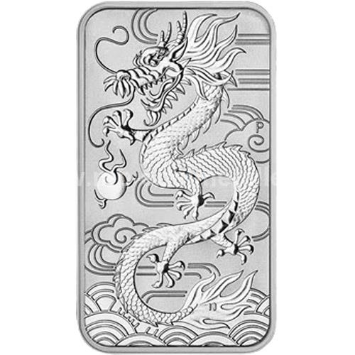 Drache 1 oz Rectangular (differenzbesteuert) (2018)