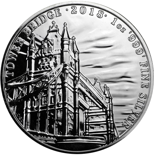Tower Bridge 1 oz (differenzbesteuert) (2018)