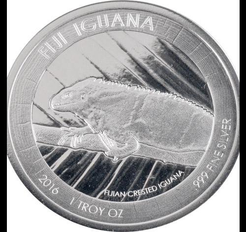 Fiji Iguana 1oz (differenzbesteuert) (2016)