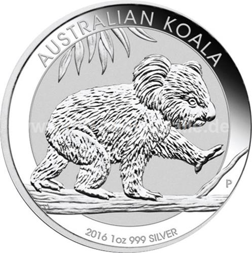 Koala 1oz (differenzbesteuert) (2016)